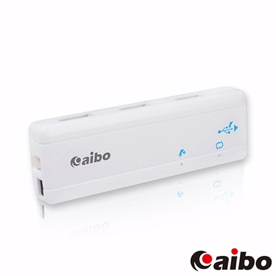 aibo-Y055-智慧型充電-傳輸兩用-USB2-0-4PORT-HUB-集線器