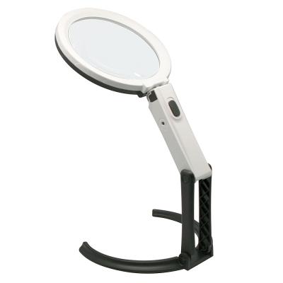 MGH13-6D手持摺臂式LED檯燈放大鏡