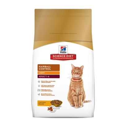 Hill's 希爾思 成貓化毛 體重專用配方 減肥貓飼料 7磅 X 1包
