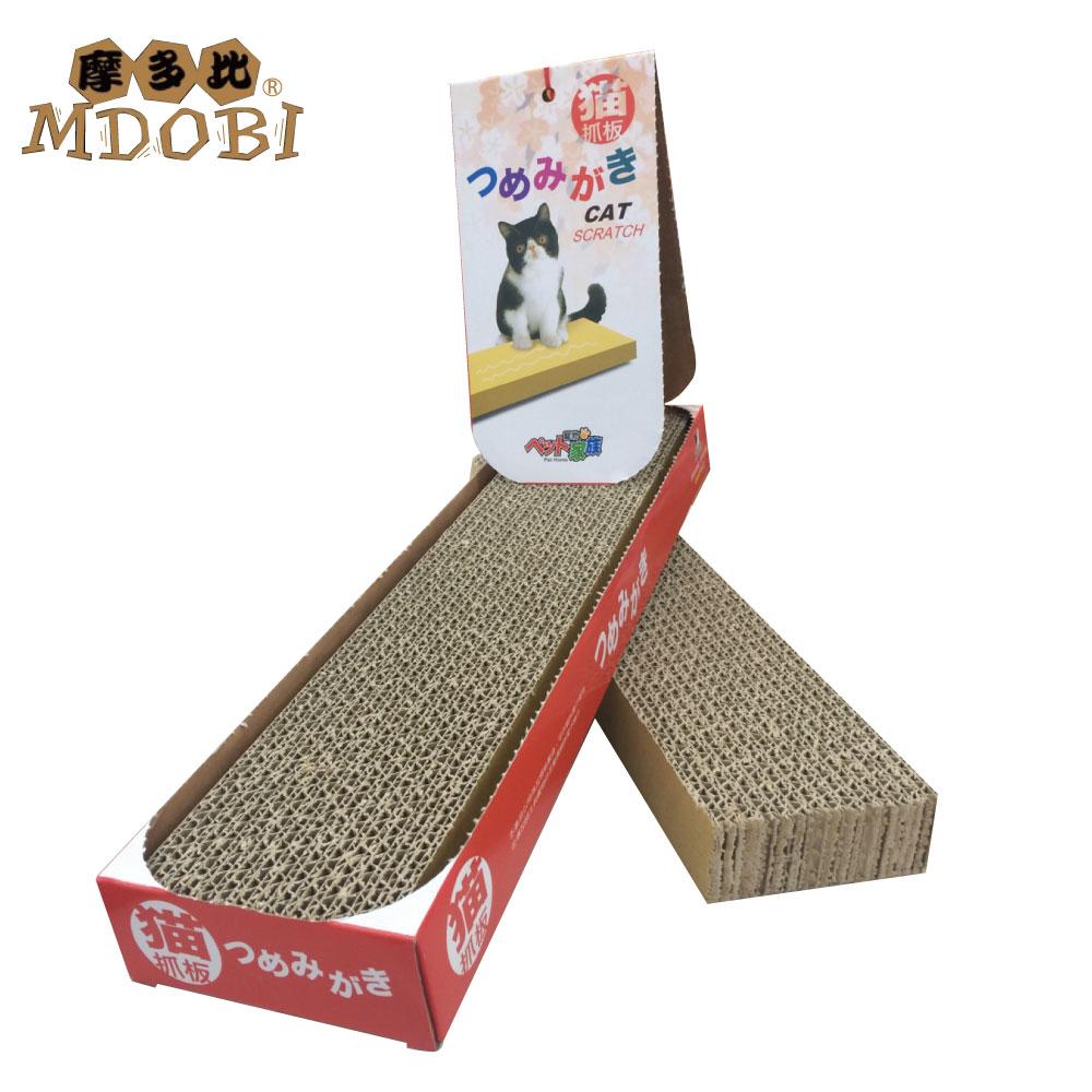 MDOBI摩多比-貓丸家 瓦楞紙 貓抓板-經濟包二入