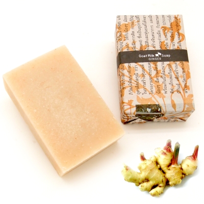 ThaiScent 泰香 生薑山羊奶手工保養皂100g