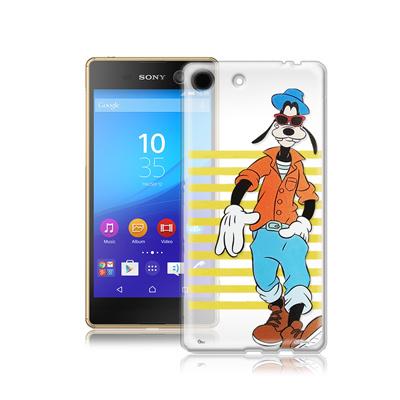 迪士尼SONY Xperia M5 E5653 街頭透明軟式手機殼(帥氣高飛)