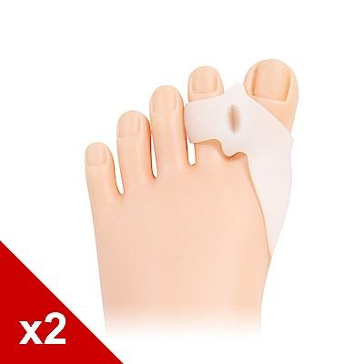 糊塗鞋匠 優質鞋材 J23 帶孔拇指固定墊 軟矽膠 2雙