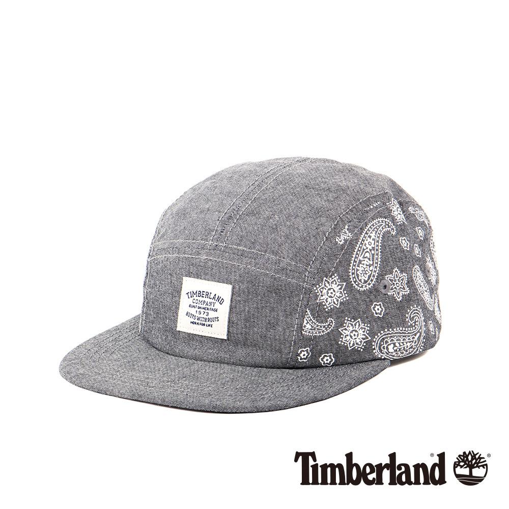 Timberland灰色時尚印花LOGO棒球帽