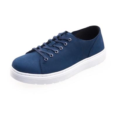 (男) Dr.Martens DANTE 6孔綁帶休閒鞋*藍色