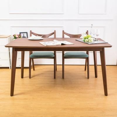 Boden-米洛5尺實木餐桌-150x90x76cm