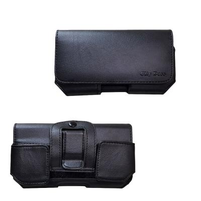 通用BWR25 橫式腰掛皮套 5.3 ~ 6 吋內手機用