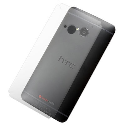 NEW HTC ONE M7 801E 超透超顯影機身背膜(2入)