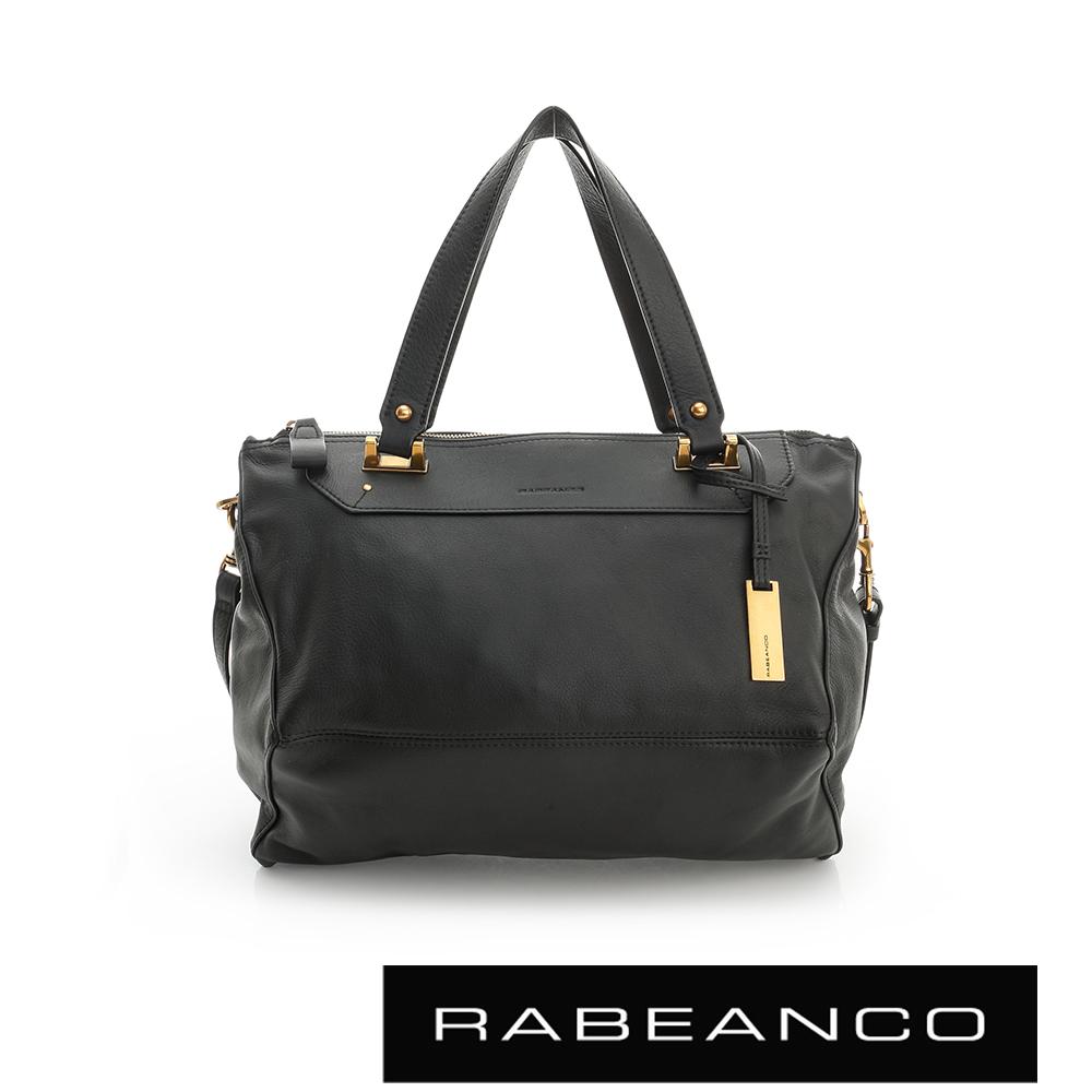 RABEANCO OL時尚粉領系列菱形包(中) - 黑