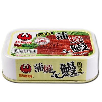 紅鷹牌 日式風蒲燒鰻100gx3入