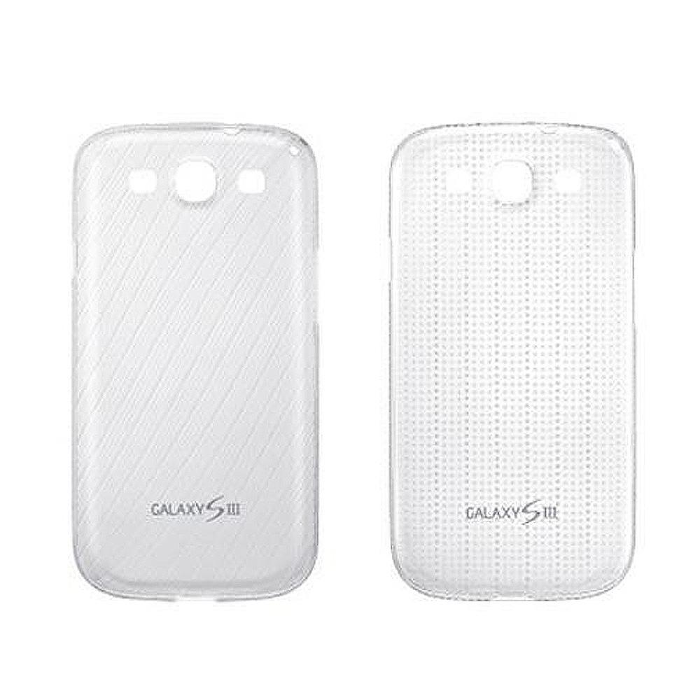 SAMSUNG SIII (S3) i9300 輕薄纖細保護套2入-白