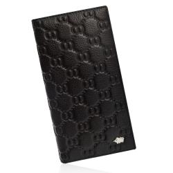 DRAKA達卡 - 皮夾/長夾/男用皮夾 Eight8真皮設計款 - 直立式11卡