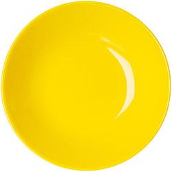 EXCELSA Trendy陶製深餐盤(黃20cm)