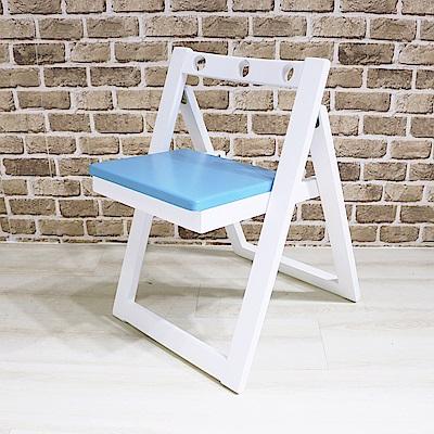 DIJIA 天然木實木炫彩摺疊椅CH-01(五色任選)