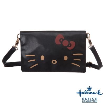 Hallmark-淘氣凱蒂兩用側背包-黑色HLKT15B228BK