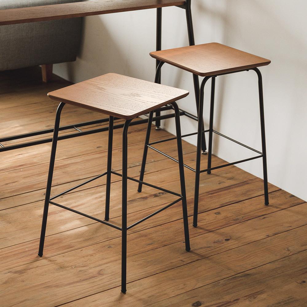 Home Feeling 吧檯椅/吧台椅/餐椅(2入組)-35x35x61cm