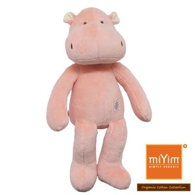 美國miYim有機棉安撫娃娃 故事書系列-喜寶河馬