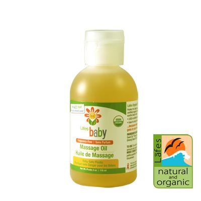 《美國USDA有機認證》Lafe's organic純自然嬰兒按摩油118ml