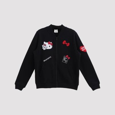 Hang Ten - 女裝 - Hello Kitty飛行外套 - 黑