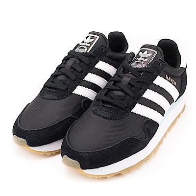 ADIDAS-HAVEN W 女復古休閒鞋-黑
