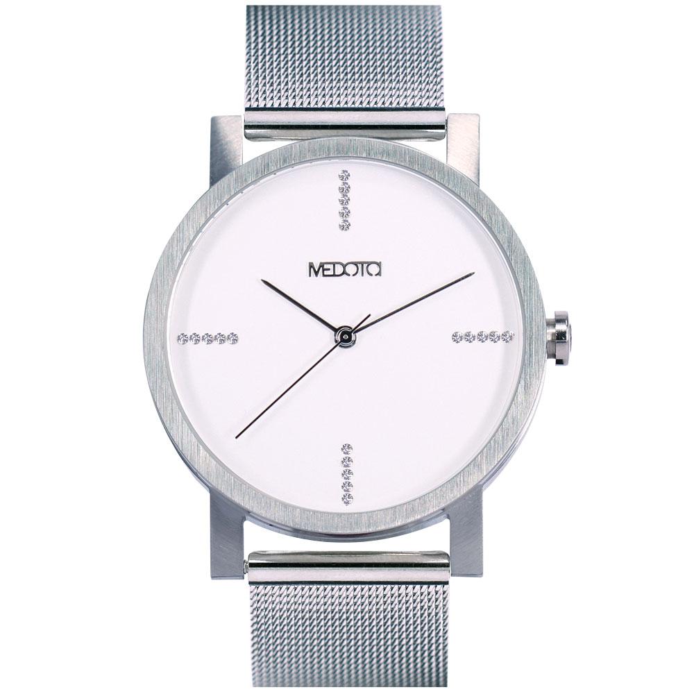 MEDOTA 極簡輕薄手錶- 奢華系列 – 男錶 銀色/40mm
