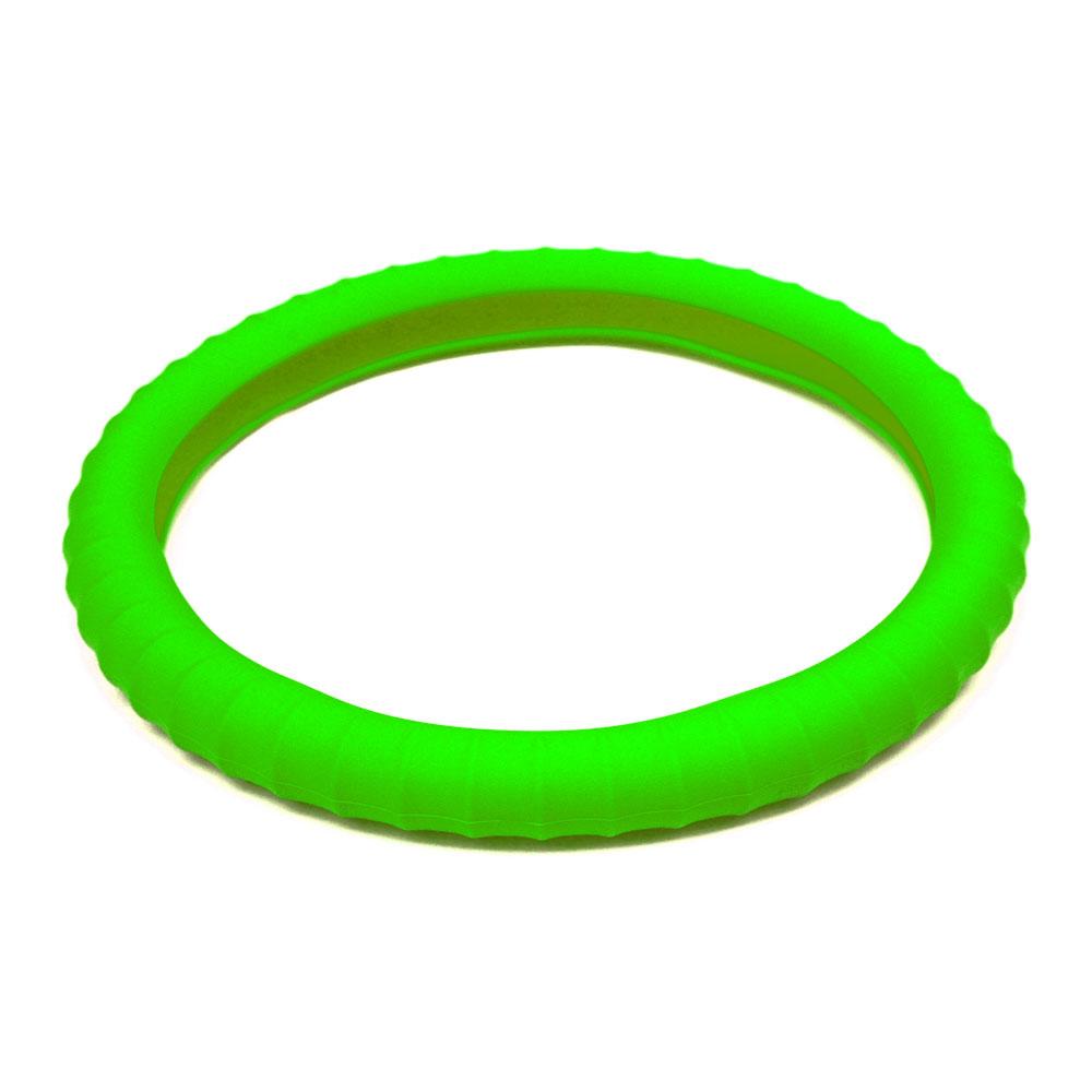 3D 矽膠方向盤套 綠