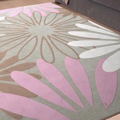 Ambience 比利時Valentine 雪尼爾絲毯 -綻放 (140x200cm)