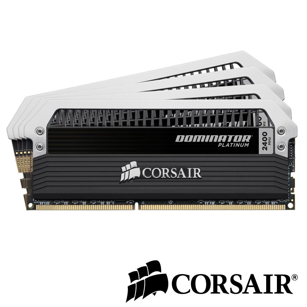 CORSAIR Dominator 白金系列 DDR3-2400 16G(4GX4)CL9