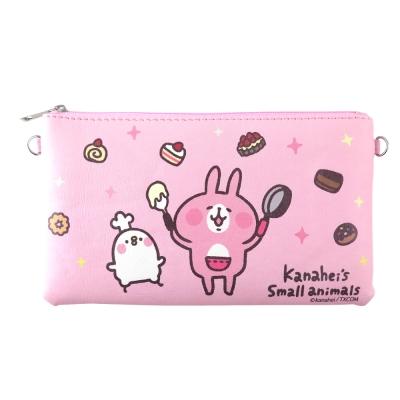 Kanahei卡娜赫拉皮質橫式手機袋/萬用包/手腕袋_甜點