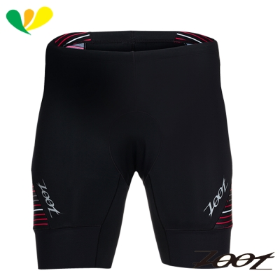 ZOOT 專業級7吋肌能鐵人褲(男)(速線紅) Z1706021