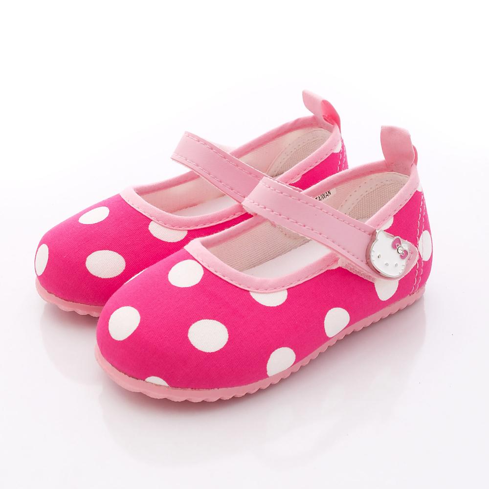 HelloKitty童鞋 普普風軟質娃娃鞋款 716210 桃 (小童段)T1