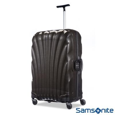 Samsonite新秀麗-28吋Lite-Locked極輕Curv四輪拉桿貝殼硬殼箱-黑