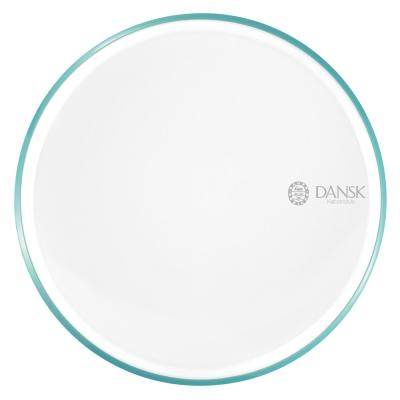 DANSK 陶瓷材質餐盤28cm-(藍綠色)