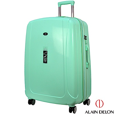 ALAIN DELON 亞蘭德倫 28吋旅者風情系列旅行箱(藍綠)