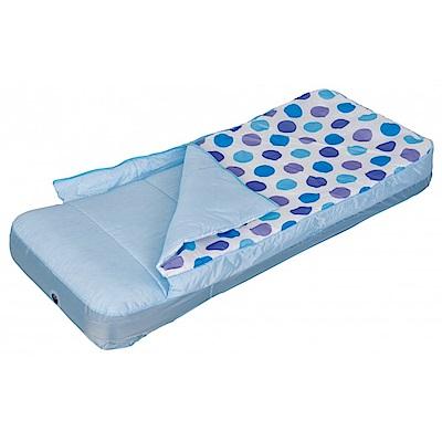 兒童睡袋充氣床+抽充二用電動打氣筒