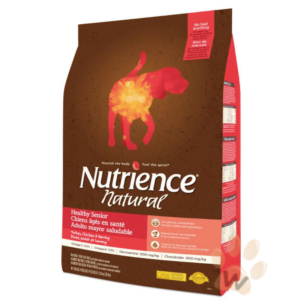 美國Nutrience紐崔斯 Natural高齡犬火雞肉13.6kg 1入