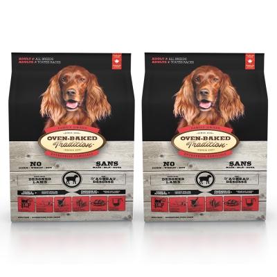Oven-Baked烘焙客 成犬 羊肉+糙米口味 (大顆粒)天然糧 5磅 x 2入