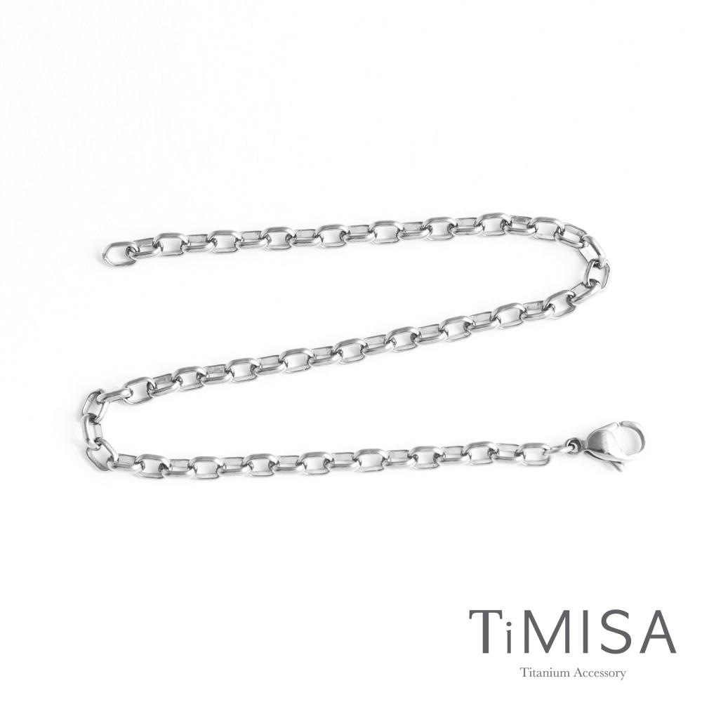 TiMISA《動感》純鈦腳鍊(M)