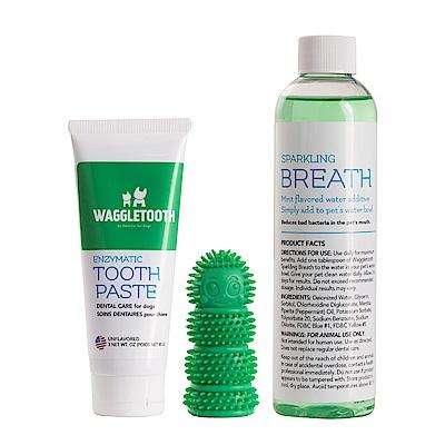 WAGGLETOOTH 全方位牙齒保健三件組
