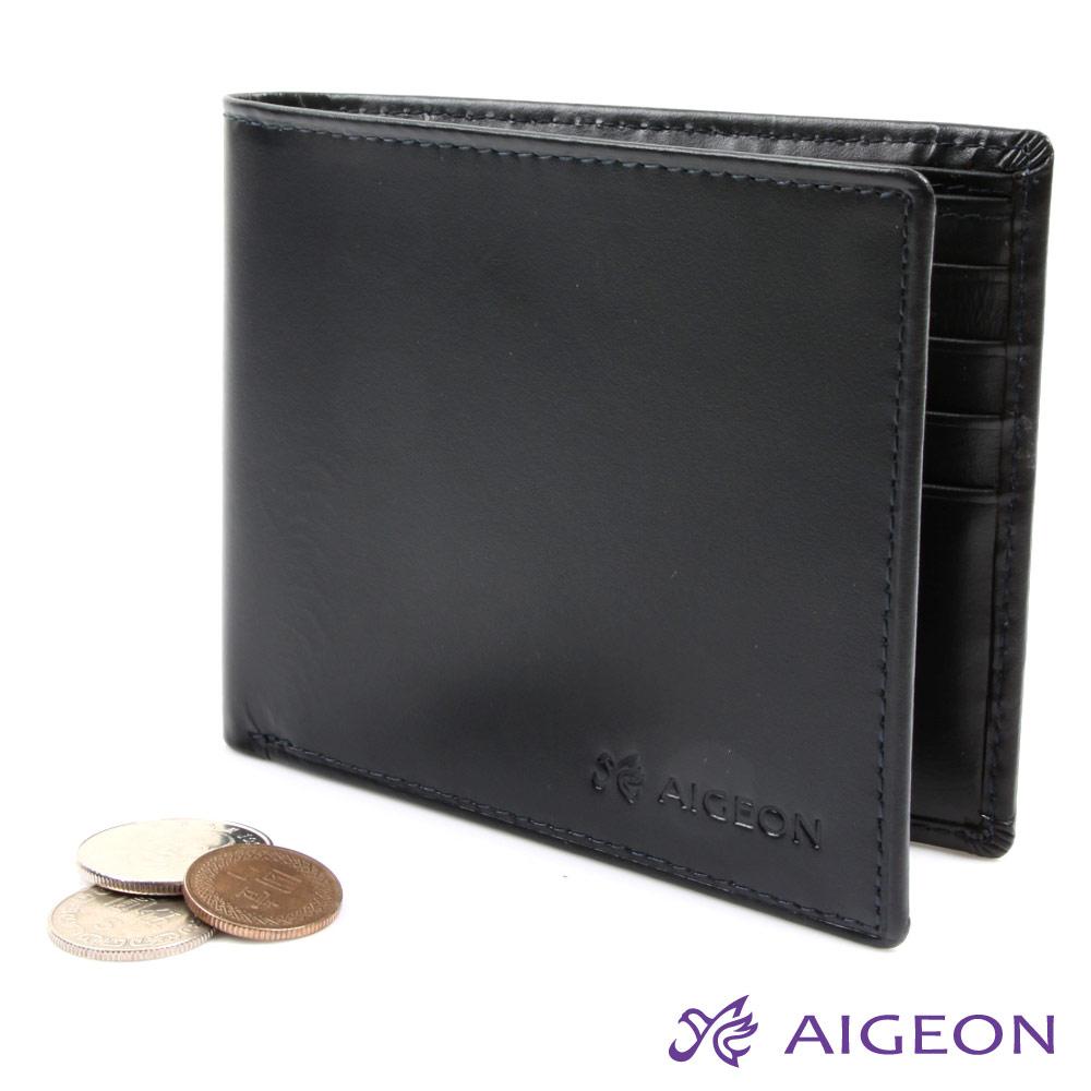 AIGEON愛雋-【絕版品皮夾】10卡2夾