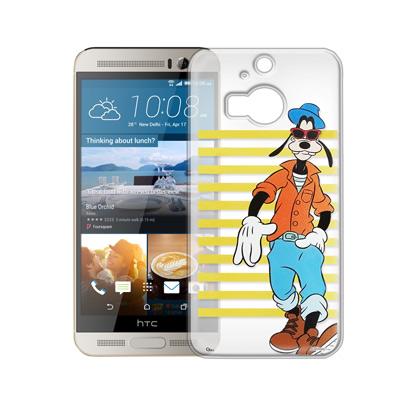 迪士尼 HTC One M9+ 街頭透明軟式手機殼(帥氣高飛)