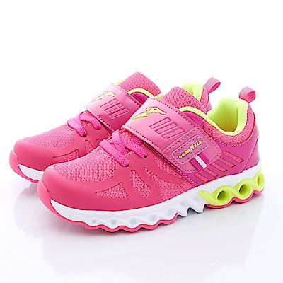 GOODYEAR戶外童鞋 炫光渦輪系列 SI8593 桃 (大童段)T1