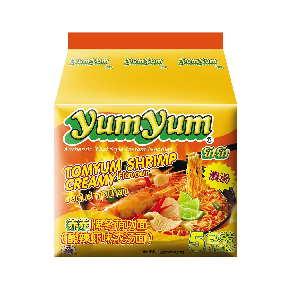 (活動)YUM YUM養養 香濃酸辣蝦味麵(350g)