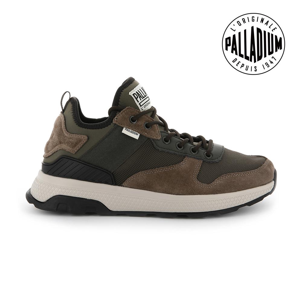 Palladium AX_EON ARMY RUNNER復古慢跑鞋-男-咖啡色