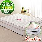 LooCa 超薄型12cm智慧獨立筒床墊 雙人5尺