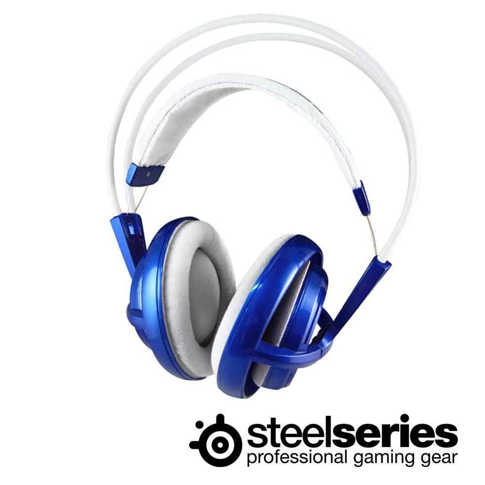 SteelSeries Siberia V1 頭戴式全罩耳麥(極光藍)