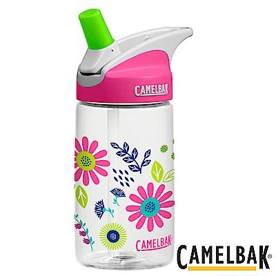 《CAMELBAK》兒童吸管運動水瓶 可愛花朵 400ml (CB1274109040)