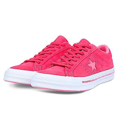CONVERSE-ONE STAR女休閒鞋159815C-粉紅