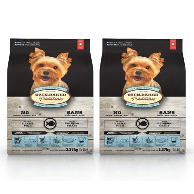 Oven-Baked烘焙客 成犬 深海魚口味 低溫烘焙 非吃不可 5磅 X 2包