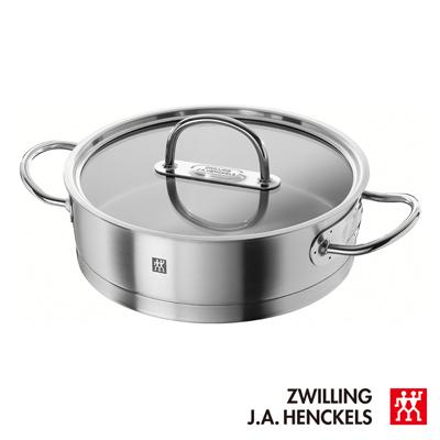 德國雙人  ZWILLING Prime 雙耳平煎鍋 24公分 / 3L